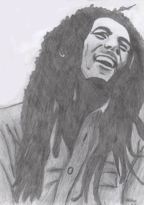Bob Marley by Scarlett